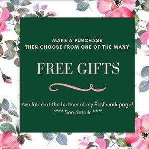 Choose 1 FREE GIFT with any purchase!